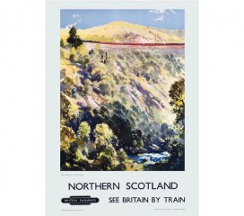 Northern Scotland Railway Poster