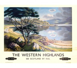 The Western Highlands Railway Poster 5