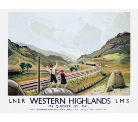 Western Highlands Railway Poster 4