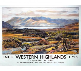 Western Highlands Railway (1939) Poster 3
