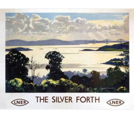 The Silver Forth (1936) Railway Poster
