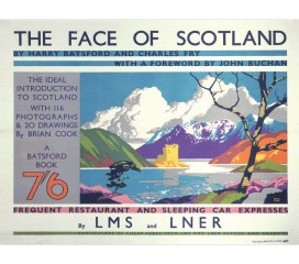 The Face of Scotland (1935) Railway Poster