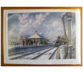 Glenfinnan Station Christmas Card