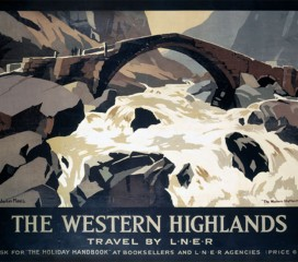 The Western Highlands (1930) LNER Railway Poster