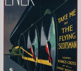 The Flying Scotsman (1932) LNER Railway Poster