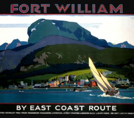 Fort William (1932) LNER Railway Poster