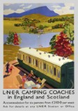 Camping Coaches (1939) Railway Poster