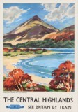 The Central Highlands (1950s) Schiehallion Railway Poster