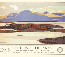 The Isle of Skye (1930) Railway Poster