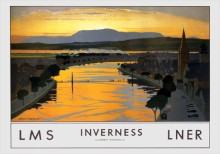 Inverness (1930) Railway Poster
