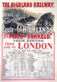 Route to the Highlands (1897) Railway Poster