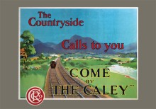 Come by the Caley (1915) Railway Poster