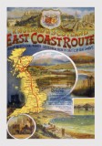 East Coast Route (c1920) Railway Poster