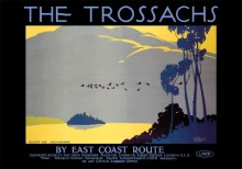 The Trossachs (1926) Railway Poster