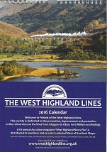 West Highland Line Calendar 2016